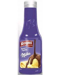 Topping de chocolate milka royal 300g