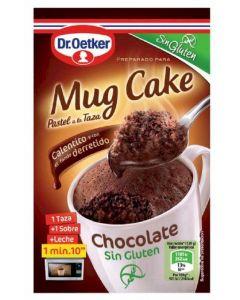 Mug cake de chocolate sin gluten dr.oetker 60g