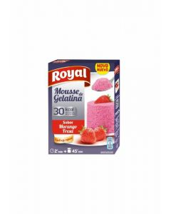 Mousse de gelatina fresa royal 31g