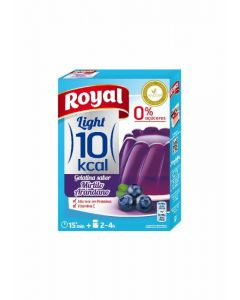 Gelatina light arandanos royal 31g