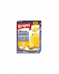 Mousse de gelatina piña royal 31g