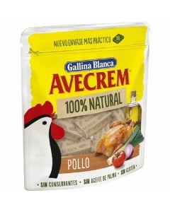 Caldo 100% natural sin gluten sin colorante y sin aceite de palma pollo avecrem 10past