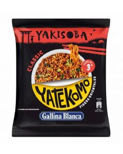 Pasta clasica yakisoba yatekomo gallina blanca bag 93g