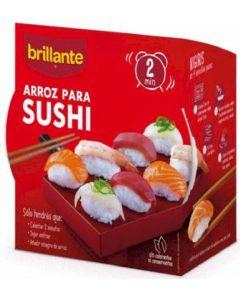 Arroz cocido sushi brillante vaso 400g