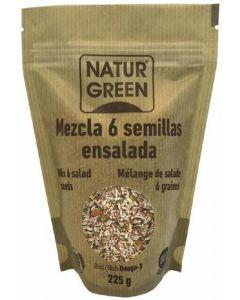 Semillas para ensaladas bio naturgreen 225g