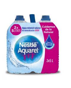 Agua mineral aquarel botella 5l