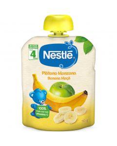 Pouch de manzana y plátano nestlé 90g