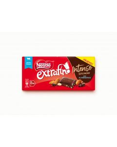 Chocolate intenso almendra nestle 123g