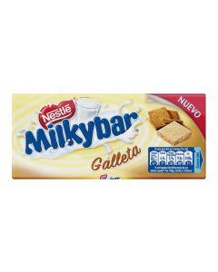 chocolate blancogalleta milkybar 100g