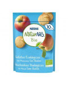 Galletas bio sin gluten con miel naturnes 150g