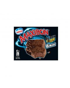 Helado maxibon mini cookie nestle p6x88ml