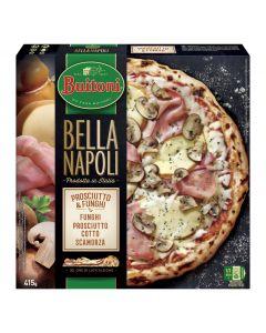 Pizza bella napoli proscuitto funchi buitoni