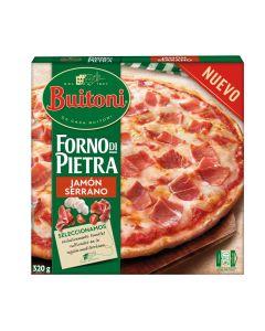Pizza jamón serrano buitoni forno 340gr