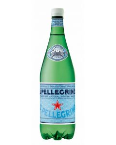 Agua mineral c/gas  s. pellegrino pet 1l