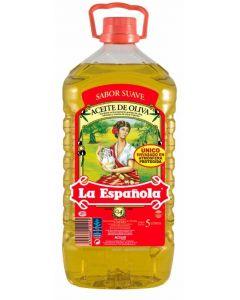 Aceite  oliva suave la española 5l
