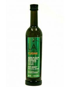 Aceite  oliva virgen extra ecologico la organic  500ml