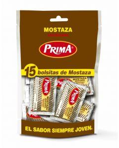 Mostaza prima pack de 15 unidades de 4g