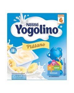 Postre lácteo de plátano nestlé pack de 4 unidades de 400g