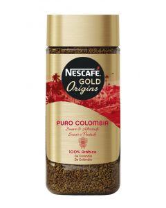 Café soluble gold puro colombia nescafé 100g