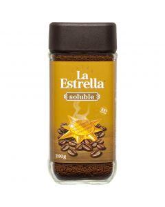 Café soluble natural la estrella 200g