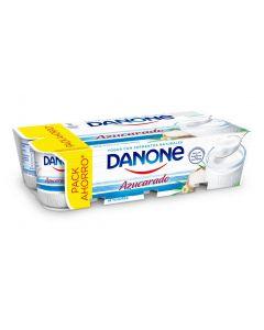 Yogur natural azucarado danone pack de 8 unidade de 125g