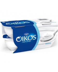 Yogur natural oikos pack de 4 unidades de 110g