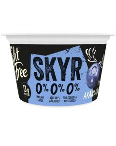 Yogur con arandanos light free 135g