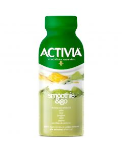 Smothie go piña-kiwi-pepino activia 250gr