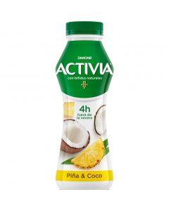 Yogur liquido piña-coco activia 580gr