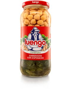 Garbanzo espinaca luengo tarro 570g