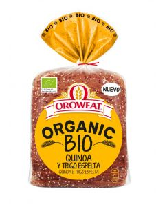 Pan molde bio quinoa trigo espelt bimbo  400g