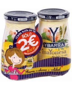 Mayonesa ybarra pack 2x400g