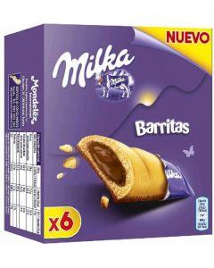 Galleta barrita milka p6x26g