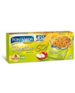 Galleta digestive go manzana fontaneda 170g