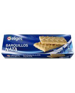 Galleta barquillo nata ifa eliges 150g