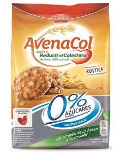 Galleta rustica avenacol 0%azucar cuetara 200g