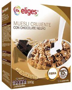 Cereales muesli crujiente con chocolate ifa eliges 500g