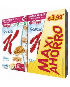 Cereales special k kelloggs paquete de 2 unidades de 500g