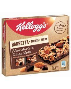 Barrita almendra y chocolate kelloggs 32 g