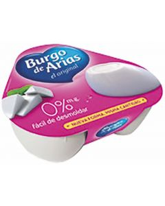 Queso burgo arias mini 0% p3 216 gr