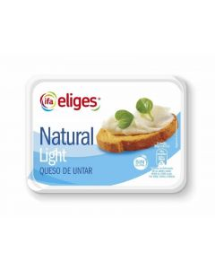 Queso untar natural light ifa eliges 250gr