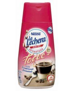 Leche condensada desnatada la lechera 450 gr