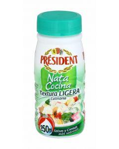 Nata cocina ligera president 250 ml