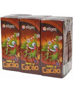 Batido de cacao ifa eliges pack de 6 unidades de 200ml