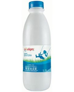 Leche entera ifa eliges botella 1,5l