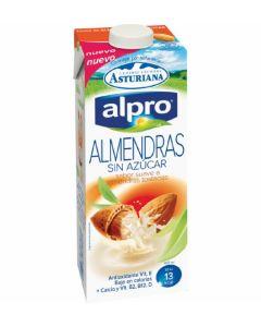 Leche light almendras alpro brick 1l