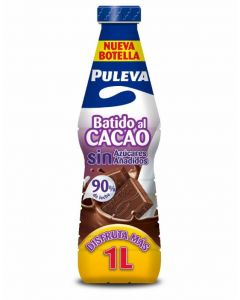 Batido light cacao puleva botella 1l