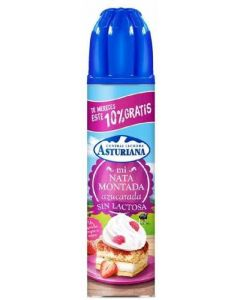 Nata spray sin lactosa asturiana 250 ml +10%