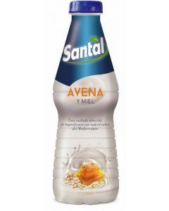 Bebida avena y miel santal botella 1l