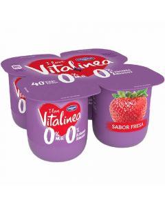 Yogur fresa vitalinea p-4x125g